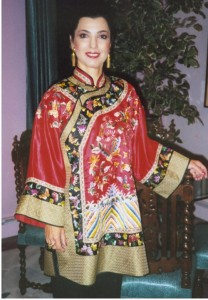 1995- Talia at her graduating ceremony of Cultural Exchange in Hungzhou